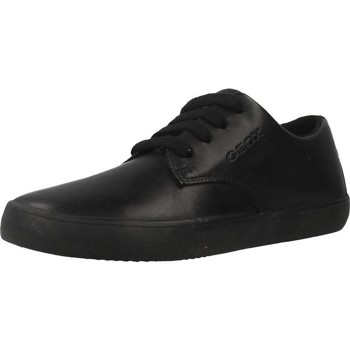 Sapatos Rapaz Sapatilhas Geox J KILWI B. G Preto