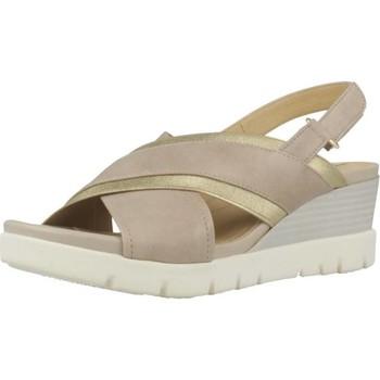Sapatos Mulher Sandálias Geox D MARYKARMEN P.D Marron