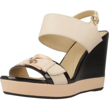 Sapatos Mulher Sandálias Geox D JANIRA E Beis