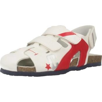 Sapatos Rapaz Sandálias desportivas Chicco HELIX Branco