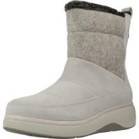 Sapatos Mulher Botas de neve Clarks UN VISTA WALK2 Cinza