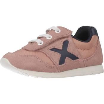 Sapatos Rapariga Sapatilhas Munich 1700019 Rosa