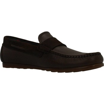 Sapatos Homem Mocassins CallagHan 15202C M0CASIN Marron