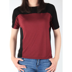 Textil Mulher T-Shirt mangas curtas Lee Color Block T L40XJMLL black, burgundy
