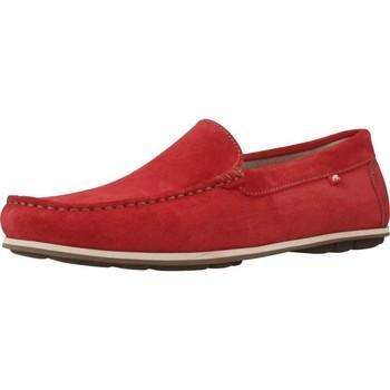 Sapatos Homem Mocassins Fluchos F0424 Vermelho