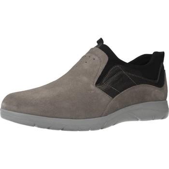 Sapatos Homem Slip on Stonefly SPACE UP 1 BIS VEL. Cinza