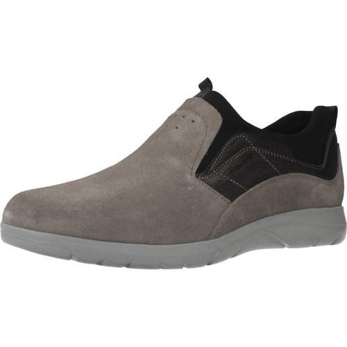 Sapatos Homem Slip on Stonefly 110631 Cinza