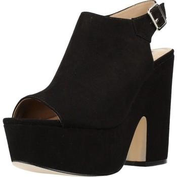 Sapatos Mulher Sandálias Different 64 8513 Preto