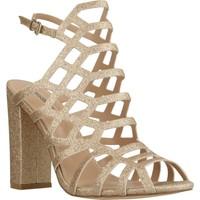 Sapatos Mulher Sandálias Different 89285 Ouro