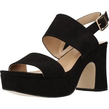 Sapatos Mulher Sandálias Different 64 8540 Preto