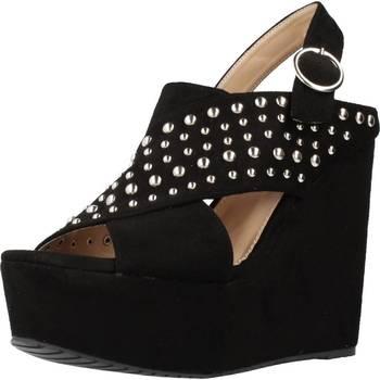 Sapatos Mulher Sandálias Different 64 8549 Preto
