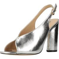 Sapatos Mulher Sandálias Different 64 8624 Silver