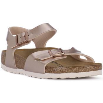 Sapatos Rapariga Sandálias Birkenstock RIO METALLIC LILAC Grigio