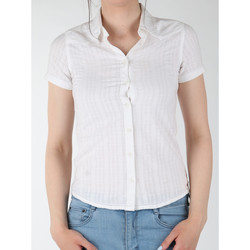 Textil Mulher camisas Wrangler Sammy W5021CA12 white