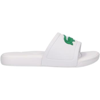 Sapatos Criança Chinelos Lacoste 37CUC0011 L30 SLIDE Blanco