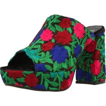 Sapatos Mulher Chinelos Lab 72477 Multicolorido