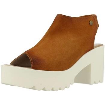 Sapatos Mulher Sandálias Istome SARA 5 Marron