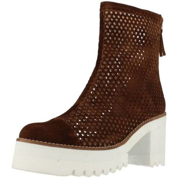 Sapatos Mulher Botas baixas Vo SARAV Marron