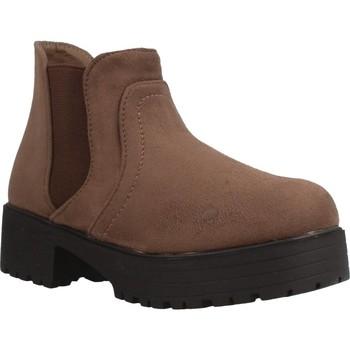 Sapatos Rapariga Botas baixas Different 4216 Marron
