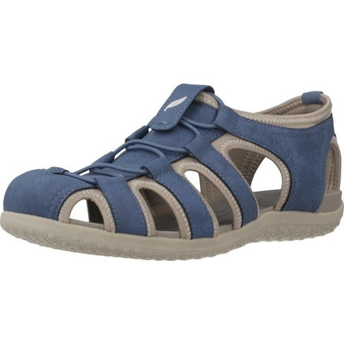 Sapatos Mulher Sandálias desportivas Geox D SANDAL VEGA Azul