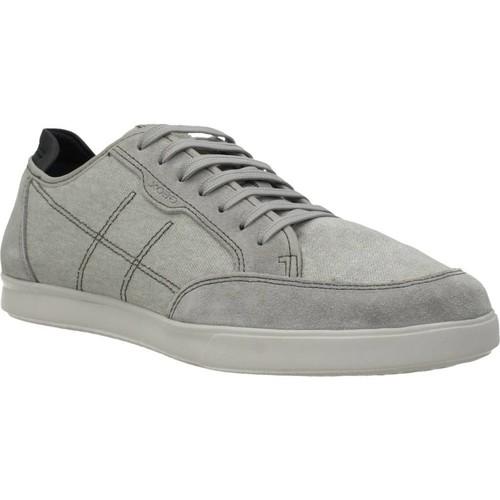 Sapatos Homem Sapatilhas Geox U WALEE Cinza