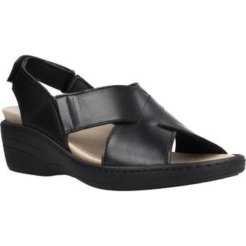 Sapatos Mulher Sandálias Pinosos 70910 Preto