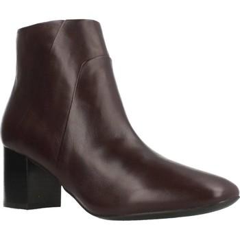 Sapatos Mulher Botas baixas Geox D NEW SYMPHONY Marron