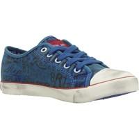 Sapatos Rapaz Sapatilhas Replay JV080099T Azul