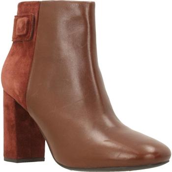 Sapatos Mulher Botas baixas Geox D AUDALIES HIGH Marron