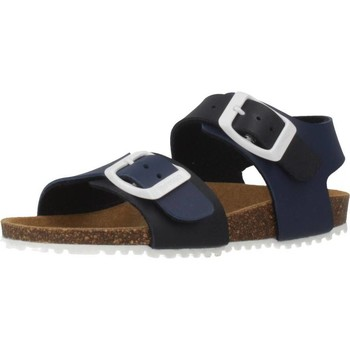 Sapatos Rapaz Sandálias Garvalin 192480 Azul
