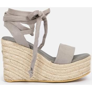 Sapatos Mulher Alpargatas By Peppas C MACAO Cinza