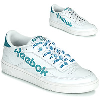 Sapatos Mulher Sapatilhas Reebok Classic CLUB C 86 Branco / Azul