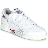 Sapatos Sapatilhas Reebok Classic WORKOUT PLUS MU Branco / Azul / Vermelho