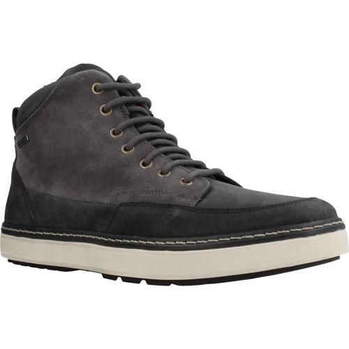 Sapatos Homem Botas baixas Geox U MATTIAS B ABX Cinza