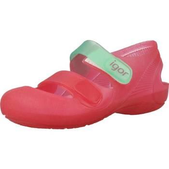 Sapatos Rapariga Sapatos aquáticos Igor S10146 Rosa