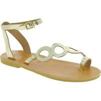 Sapatos Mulher Sandálias Attica Sandals APHRODITE CALF GOLD oro