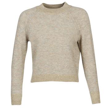 Textil Mulher camisolas Only ONLFRANJA Bege