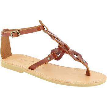 Sapatos Mulher Sandálias Attica Sandals GAIA CALF DK-BROWN marrone