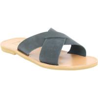 Sapatos Homem Chinelos Attica Sandals ORION NUBUCK BLACK nero
