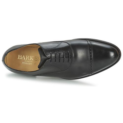 Barker Burford Preto - Entrega Gratuita- Sapatos Richelieu Homem 262