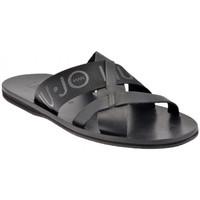 Sapatos Homem Chinelos Liu Jo  Preto