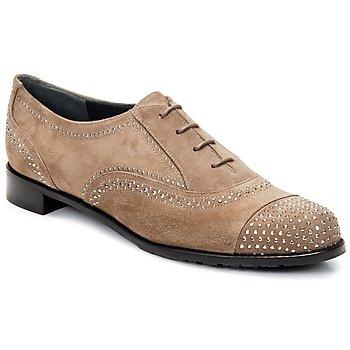 Sapatos Mulher Richelieu Stuart Weitzman DERBY Bege