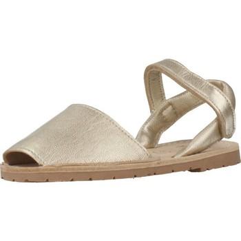 Sapatos Rapariga Sandálias Ria 20090 Ouro