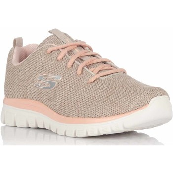 Sapatos Mulher Fitness / Training  Skechers -12614 NTCL Bege
