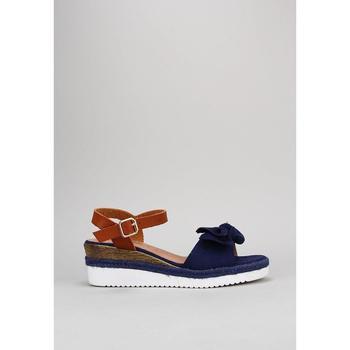 Sapatos Mulher Sandálias Isteria  Azul