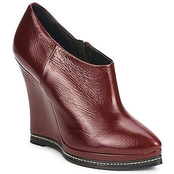 Sapatos Mulher Botas baixas Fabi FD9627 Castanho