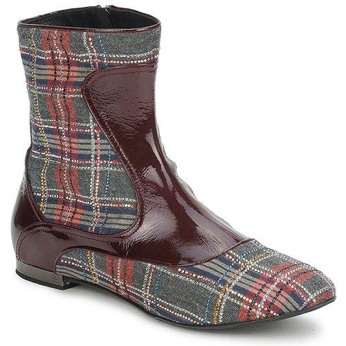 Sapatos Mulher Botas baixas Fabi FD9677 Multicolor