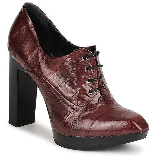 Sapatos Mulher Botas baixas Fabi FD9734 Castanho