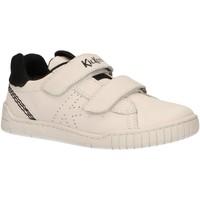Sapatos Criança Multi-desportos Kickers 694870-30 WIZZ Blanco