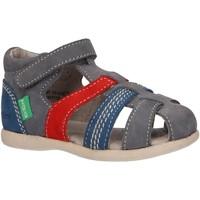 Sapatos Rapaz Sandálias Kickers 102987-10 BABYSUN Azul